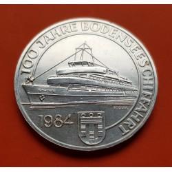 .AUSTRIA 100 SCHILLING 1979 INN DISTRITO STRAUSS PLATA SC SILVER