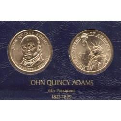 ESTADOS UNIDOS 1 DOLAR 2008 D PRESIDENTE JOHN QUINCY ADAMS SC
