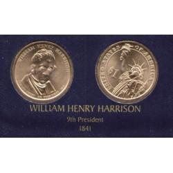 ESTADOS UNIDOS 1 DOLAR 2009 D PRESIDENTE WILLIAM HENRY HARRISON
