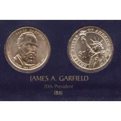 ESTADOS UNIDOS 1 DOLAR 2011 P PRESIDENTE n. 20 JAMES GARFIELD SC