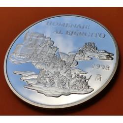 ..ESPAÑA 25 EUROS 1997 PLATA FNMT AVIACION ESPAÑOLA PLUS ULTRA