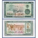 . ALBANIA 10 LEKE 1976 HILANDERA Pick 43 SC BILLETE Albanien Lek