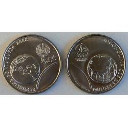 PORTUGAL 2,50 EUROS 2008 OLIMPIADA BEIJING NIQUEL SC