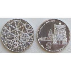 PORTUGAL 2,50 EUROS 2009 MONASTERIO DAS JERONIMOS MONEDA DE NICKEL SC