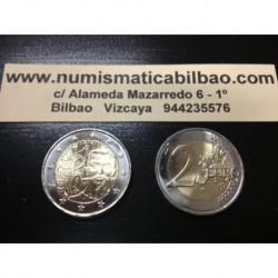 2 EUROS 2013 FRANCIA PIERRE de COUBERTIN FUNDADOR DEL COI SC MONEDA CONMEMORATIVA