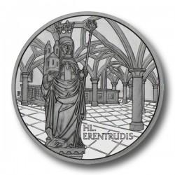 OSTERREICH 10 EUROS 2006 NONNBERG ERENTRUDIS SILVER
