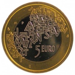 FINLANDIA 5 EUROS 2006 PRESIDENCIA UNION EUROPEA SC FINNLAND