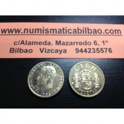 ESPAÑA 100 PESETAS 1985 M JUAN CARLOS I LIS ARRIBA SC