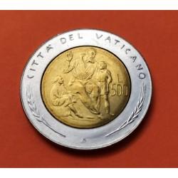 ITALIA 500 LIRAS 1961 CUADRIGA PLATA SILVER ITALY LIRE