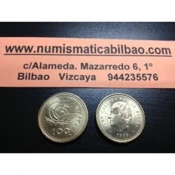 ESPAÑA 100 PESETAS 1999 M JUAN CARLOS I LIS HACIA EL DIBUJO SC