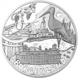 . 2015 AUSTRIA 10 EUROS REGION DE BURGENLAND COBRE SC OSTERREICH