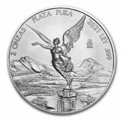 MEXICO 1 ONZA 1996 ANGEL PLATA PURA SC ONZA SILVER UNC RARA