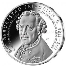 ALEMANIA 10 EUROS 2012 Ceca A NICKEL SC FRIEDRICH II
