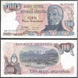 . ARGENTINA 1 PESO 1983 GENERAL SAN MARTIN Pick 311 SC BILLETE