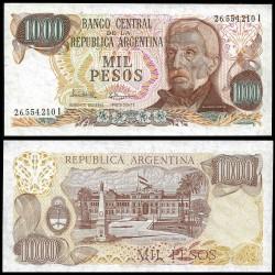 . ARGENTINA 1000 PESOS 1976 GENERAL SAN MARTIN Pick 304 SC