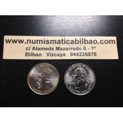 ESTADOS UNIDOS 1/4 DOLAR 25 CENTAVOS 2009 D SC GUAM