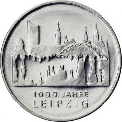 . ALEMANIA 10€ EUROS 2015 Ceca F LEIPZIG Nickel SC moneda