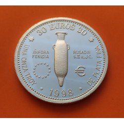 . 30 EUROS 1998 BILBAO PLATA ARABA BIZKAIA GUIPUZKOA EUSKADI