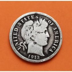 USA 10 CENTS DIME 1917 P MERCURY SILVER AUNC