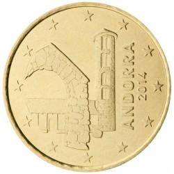 . 1€ EURO 2014 ANDORRA ESCUDO SC BIMETALICA MONEDA COIN MÜNZEN