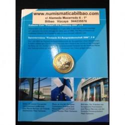 FINLANDIA 5 EUROS 2006 PRESIDENCIA DE EUROPA SC FINNLAND BLISTER