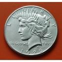 ESTADOS UNIDOS 1 DOLAR 1926 S PEACE PAZ PLATA EBC Silver DOLLAR