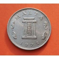 .MALTA 2 LIRA 1989 INDEPENDENCIA PLATA SC- SILVER COIN