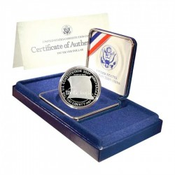 ESTADOS UNIDOS 1 DOLAR 1987 S CONSTITUCION PLATA PROOF Silver US