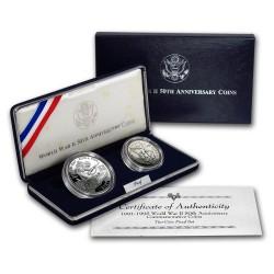 ESTADOS UNIDOS 1 DOLAR 2001 P CAPITOL PLATA PROOF Silver USA