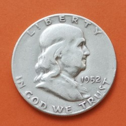 ESTADOS UNIDOS 1/2 DOLAR 1963 P FRANKLIN PLATA US HALF DOLLAR SC