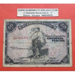 ESPAÑA 100 PESETAS 1906 SEPTIEMBRE 24 SERIE C 1111034 MBC