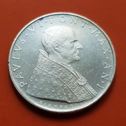 .VATICANO 5 LIRAS 1939 SEDE VACANTE PLATA SILVER KM.20 VATICAN