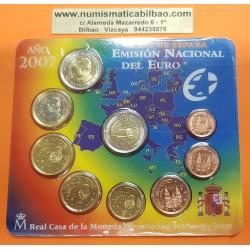 ESPAÑA CARTERA FNMT EUROS 2005 BU SET KMS QUIJOTE EURO