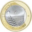 5 EUROS 2013 FINLANDIA SAVONIA BIMETALICA SC Nº22