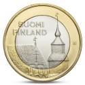 5 EUROS 2013 FINLANDIA Nº 24 TRAVASTIA BIMETALICA SC