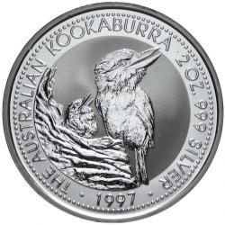 AUSTRALIA 2 DOLARES 1992 KOOKABURRA PLATA SC SILVER UNC DOLLAR