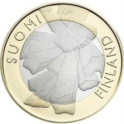 FINLANDIA 5 EUROS 2011 PROVINCIA Nº7 SC OSTROBOTHNIAN