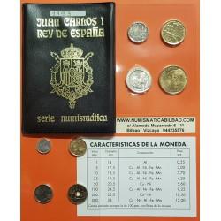 . 1993 ESPAÑA CARTERA SC 1+5+10+25+50+2x100+200+500 PESETAS