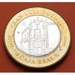 MEXICO 100 PESOS 2004 ESTADO DE TABASCO BIMETALICA PLATA