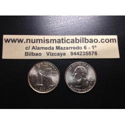 ESTADOS UNIDOS 1/4 DOLAR 25 CENTAVOS 2001 P SC NEW YORK