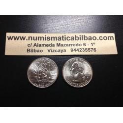 ESTADOS UNIDOS 1/4 DOLAR 25 CENTAVOS 2001 D SC VERMONT