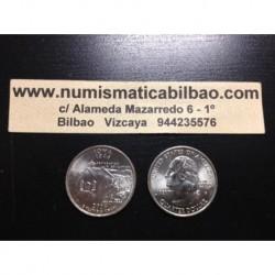 ESTADOS UNIDOS 1/4 DOLAR 25 CENTAVOS 2004 D SC IOWA