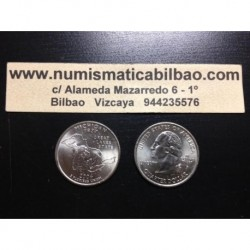 ESTADOS UNIDOS 1/4 DOLAR 25 CENTAVOS 2004 D SC MICHIGAN