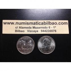 ESTADOS UNIDOS 1/4 DOLAR 25 CENTAVOS 2004 D SC WISCONSIN