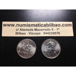 ESTADOS UNIDOS 1/4 DOLAR 25 CENTAVOS 2005 D SC CALIFORNIA