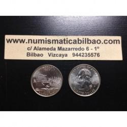 ESTADOS UNIDOS 1/4 DOLAR 25 CENTAVOS 2005 D SC MINNESOTA