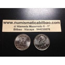 ESTADOS UNIDOS 1/4 DOLAR 25 CENTAVOS 2008 D SC NEW MEXICO