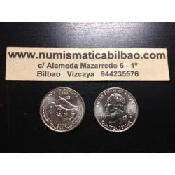ESTADOS UNIDOS 1/4 DOLAR 25 CENTAVOS 2006 D SC SOUTH DAKOTA