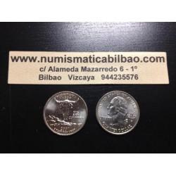 ESTADOS UNIDOS 1/4 DOLAR 25 CENTAVOS 2007 D SC MONTANA