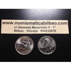 ESTADOS UNIDOS 1/4 DOLAR 25 CENTAVOS 2008 P SC HAWAII